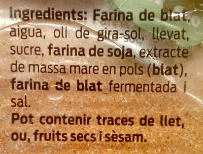 Pan burguer chef - Ingredients - ca