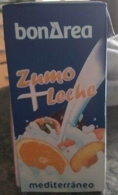 Zumo + Leche mediterráneo