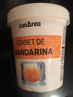 Sorbete de mandarina - Produit