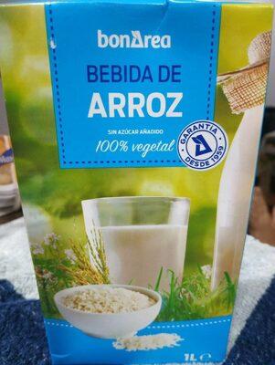 Bebida de arroz 100% vegetal - Product