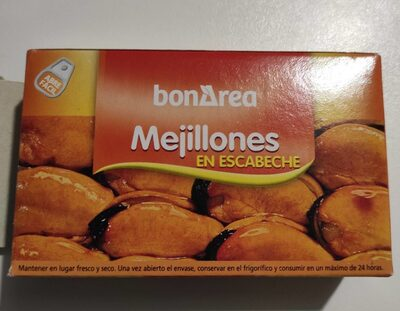 Mejillones en escabeche - Prodotto - es