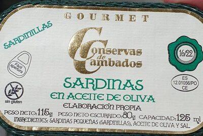 Sardinas en aceite de oliva - Product - en