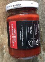 Carne de pimiento choricero - Produit - es