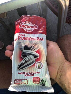 Pipas al punto de sal - Produit