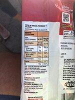 Pipas al punto de sal - Informations nutritionnelles