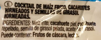 Cocktail de frutos secos - Ingredientes