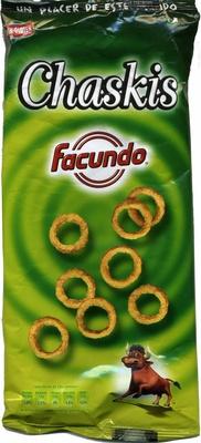 """Aros de maíz """"Chaskis"""" (150 g) - Producte - es"""
