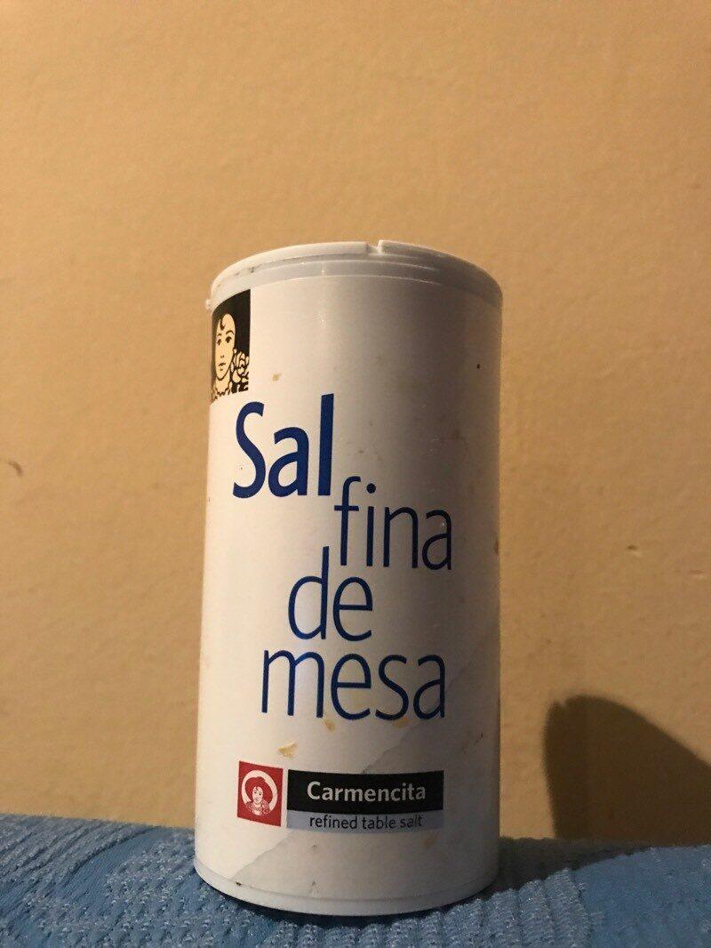SAL FINA DE MESA CARMENCITA - Producte