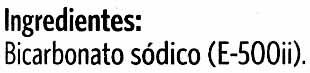 Bicarbonato sódico - Ingredientes - es