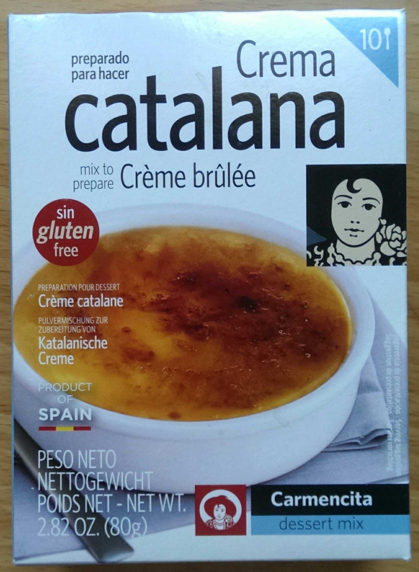 Crème catalane - Product - fr