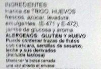 Bizcochos de Soletilla cocido sobre horno de piedra - Ingrédients - es