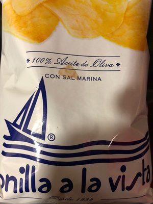 Patatas fritas en aceite de oliva bolsa 150 g - Producto