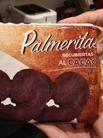 Palmeritas recubiertas al Cacao - Product - es