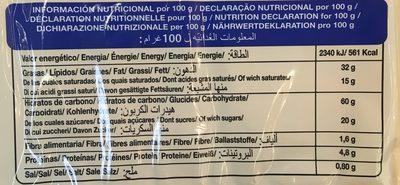 Palmeritas de Hojaldre - Ingredients - fr