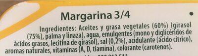 Margarina original - Ingredienti - es
