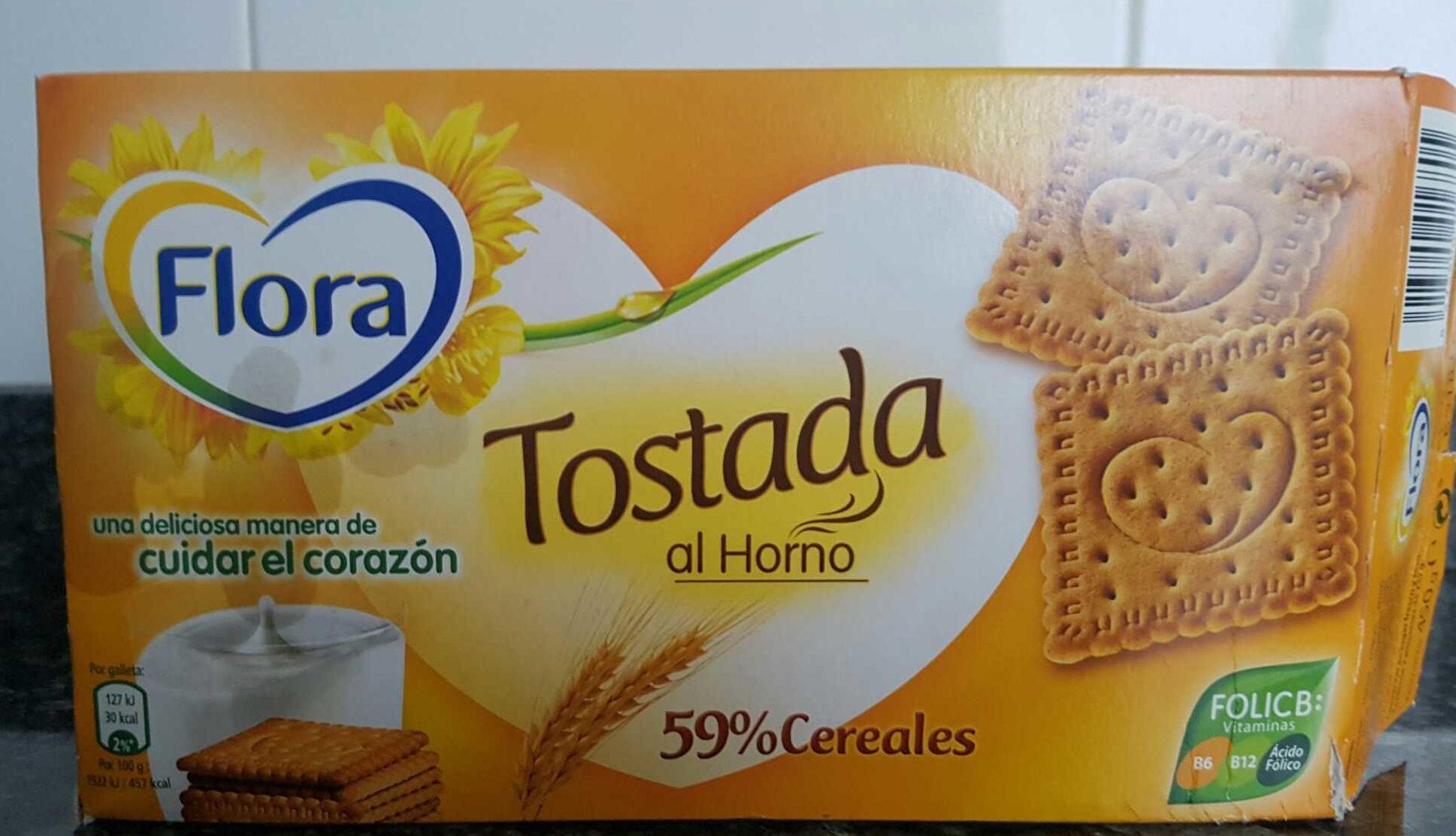 Galletas Tostadas al horno - Producto