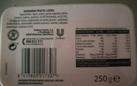 Margarina - Ingredients - es