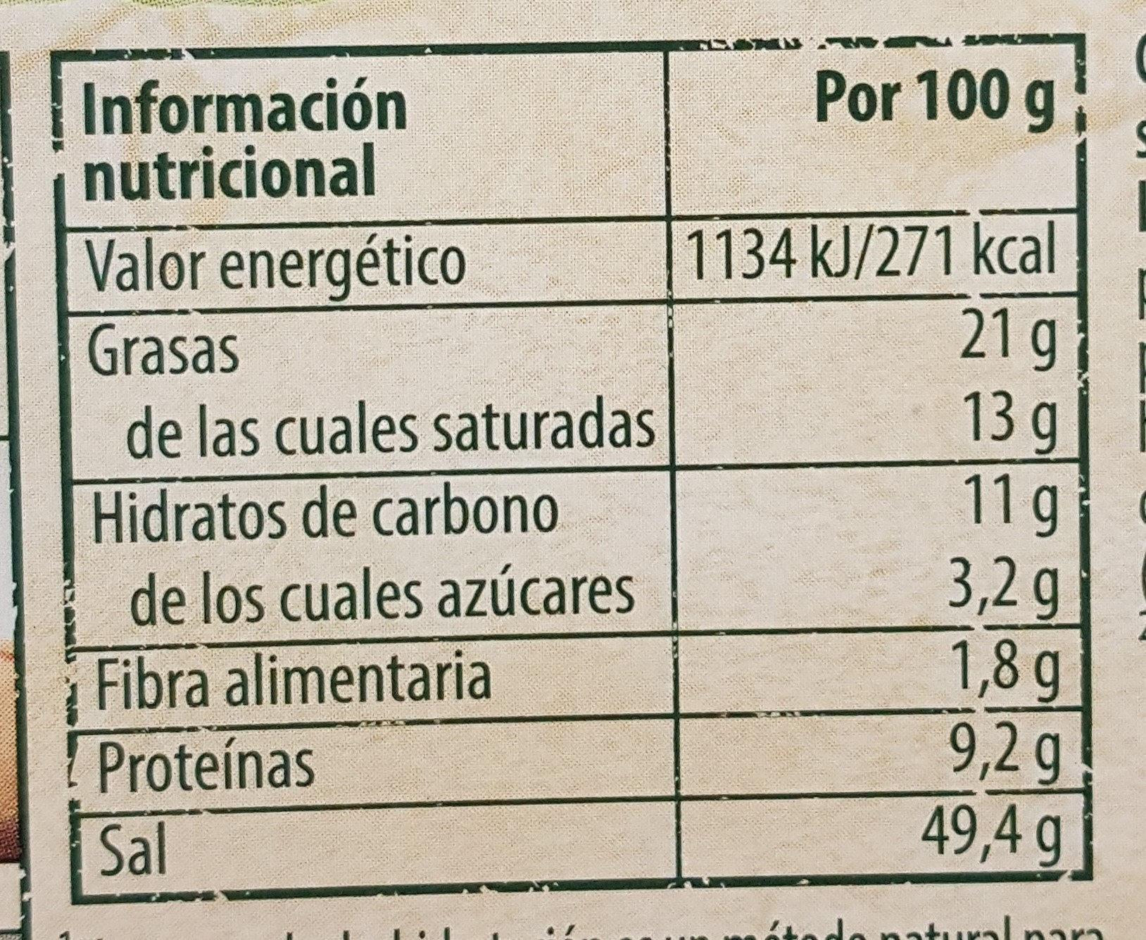 Caldo Vegetal - Voedingswaarden - es