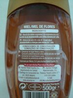 Miel de flores - Ingredientes - es
