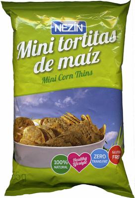 Mini tortitas de maíz - Producto - es