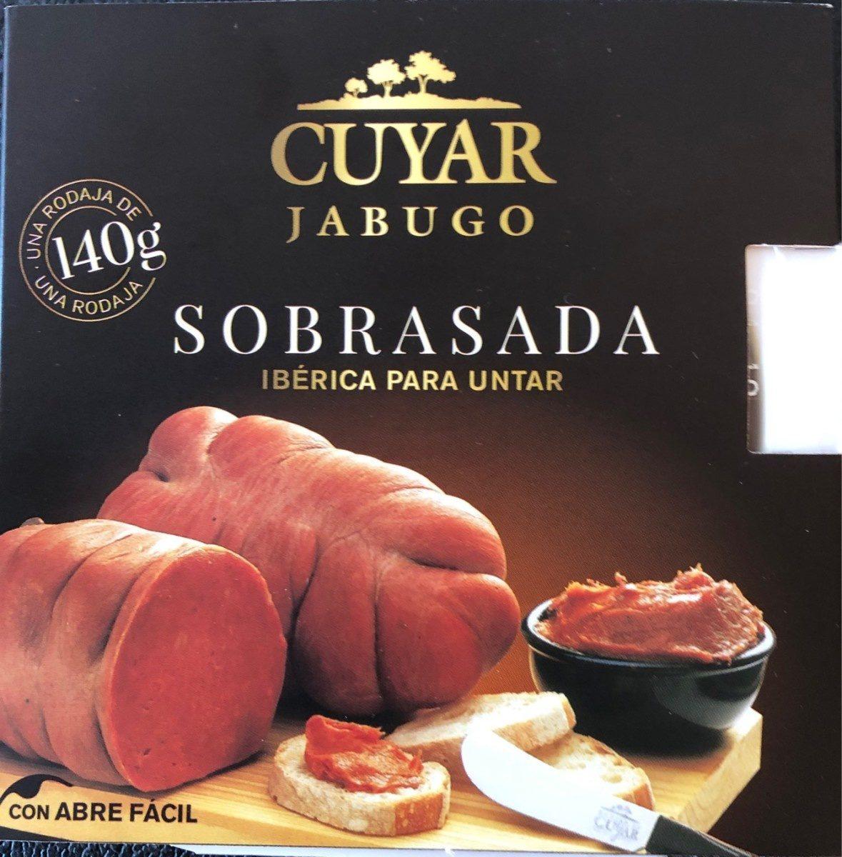 Sobrasada Iberica Cuyar Untar - Producto