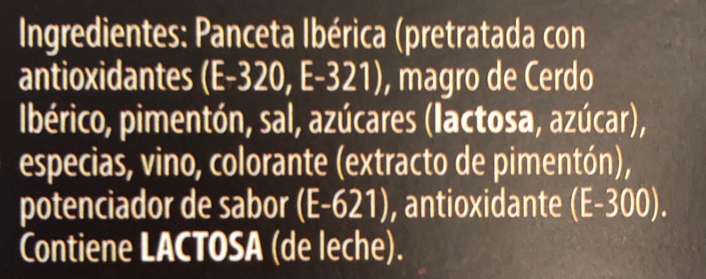 Sobrasada Iberica Cuyar Untar - Ingredientes