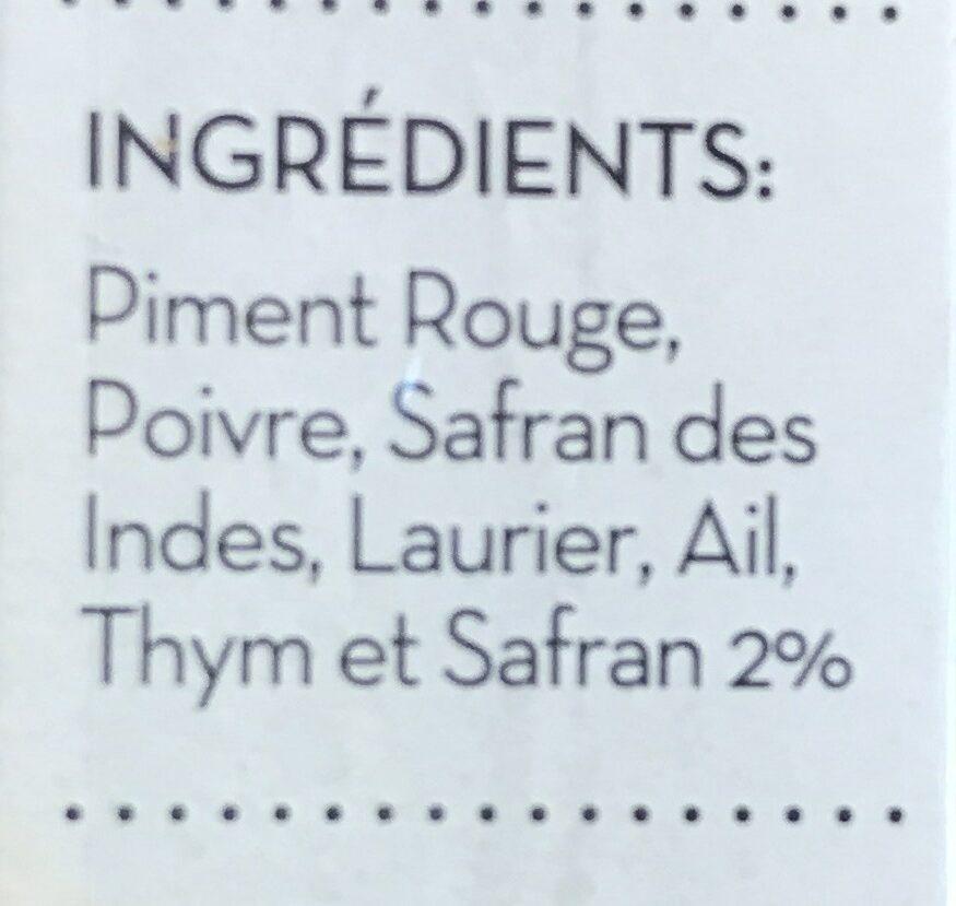 Paella Seasoning Sachets (5X3G) 30 x 15G - Ingredients