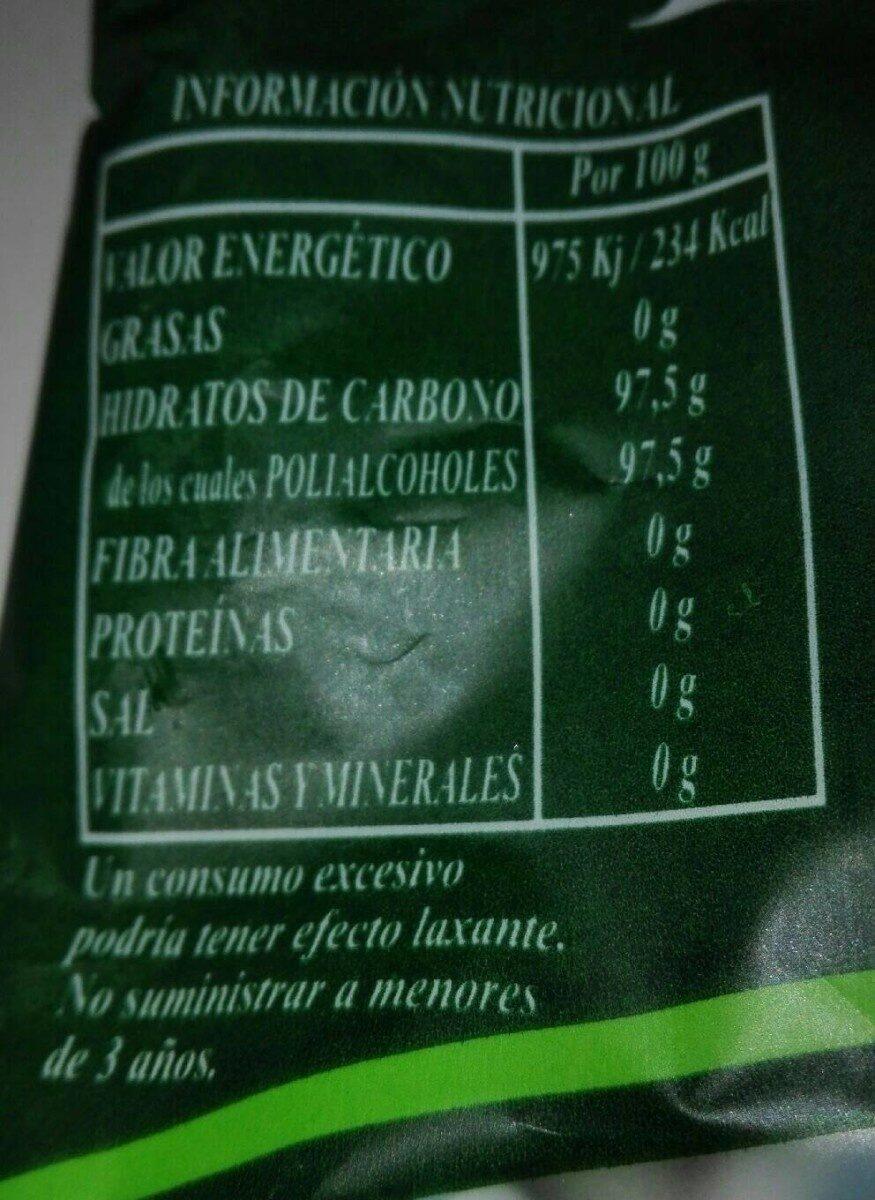 Bonbon Menthe Sans Sucre - Informations nutritionnelles - fr