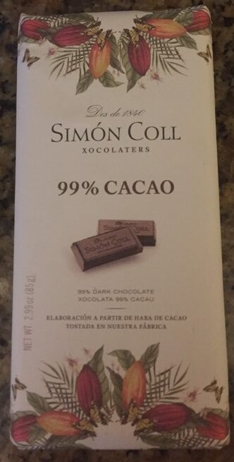 99% cacao - Producte - fr