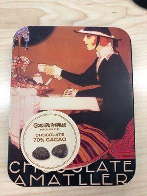 Hojas finas 70% cacao
