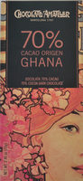 Grand Cru Ghana, Zartbitterschokolade 70 % - Producto