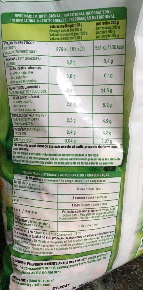 Ensaladilla jv - Informations nutritionnelles - es
