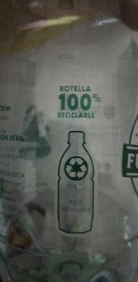 Agua fuente de terror con gas - Istruzioni per il riciclaggio e/o informazioni sull'imballaggio - es
