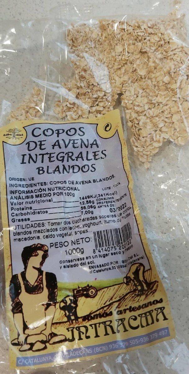 Copos de avena integrales blandos - Product - es