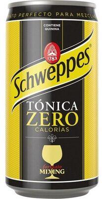 schweppes tonica zero