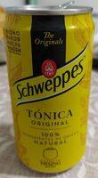 Tónica schweppes - Producto - es