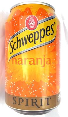 Schweppes naranja spirit - Producto - es