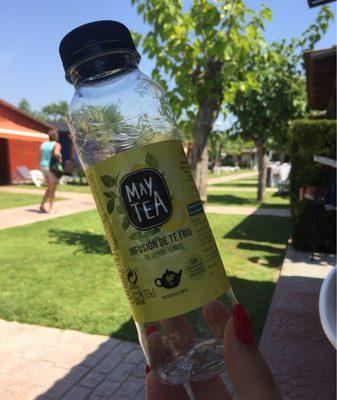 Refresco de infusión de té verde y limón bajo calorías - Producto - fr
