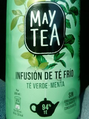 May Tea menthe - Product - fr