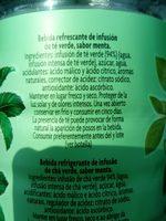 May Tea menthe - Ingredients - fr