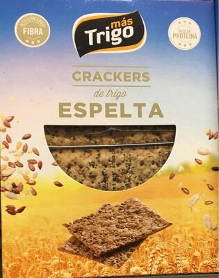 Crackers de trigo espelta - Producte