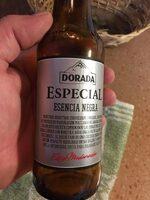 Cerveza negra dorada especial - Informació nutricional - es