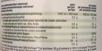 Vegan Protein - Informations nutritionnelles - fr