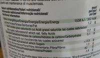 Vegan protein vanilla - Informations nutritionnelles - fr