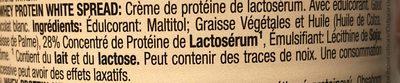 Crème de protéines de lactosérum - Ingrédients - fr