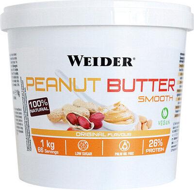 Crema de cacahuete suave natural baja azúcar - Producto - es