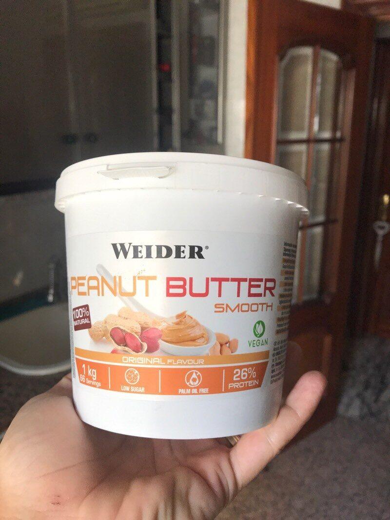 Crema de cacahuete suave natural baja azúcar - Product