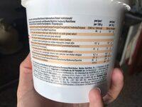 Crema de cacahuete suave natural baja azúcar - Nutrition facts