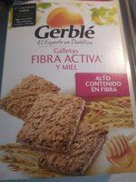 Galletas fibra activa y miel - Producte - es