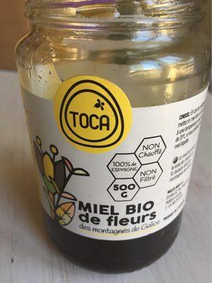 calorie Miel Bio de Fleurs des Montagnes de Galice